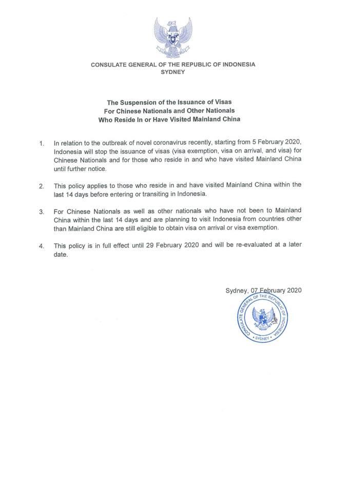 Konsulat Jenderal Republik Indonesia Untuk New South Wales Queensland Dan South Australia Berkedudukan Di Sydney