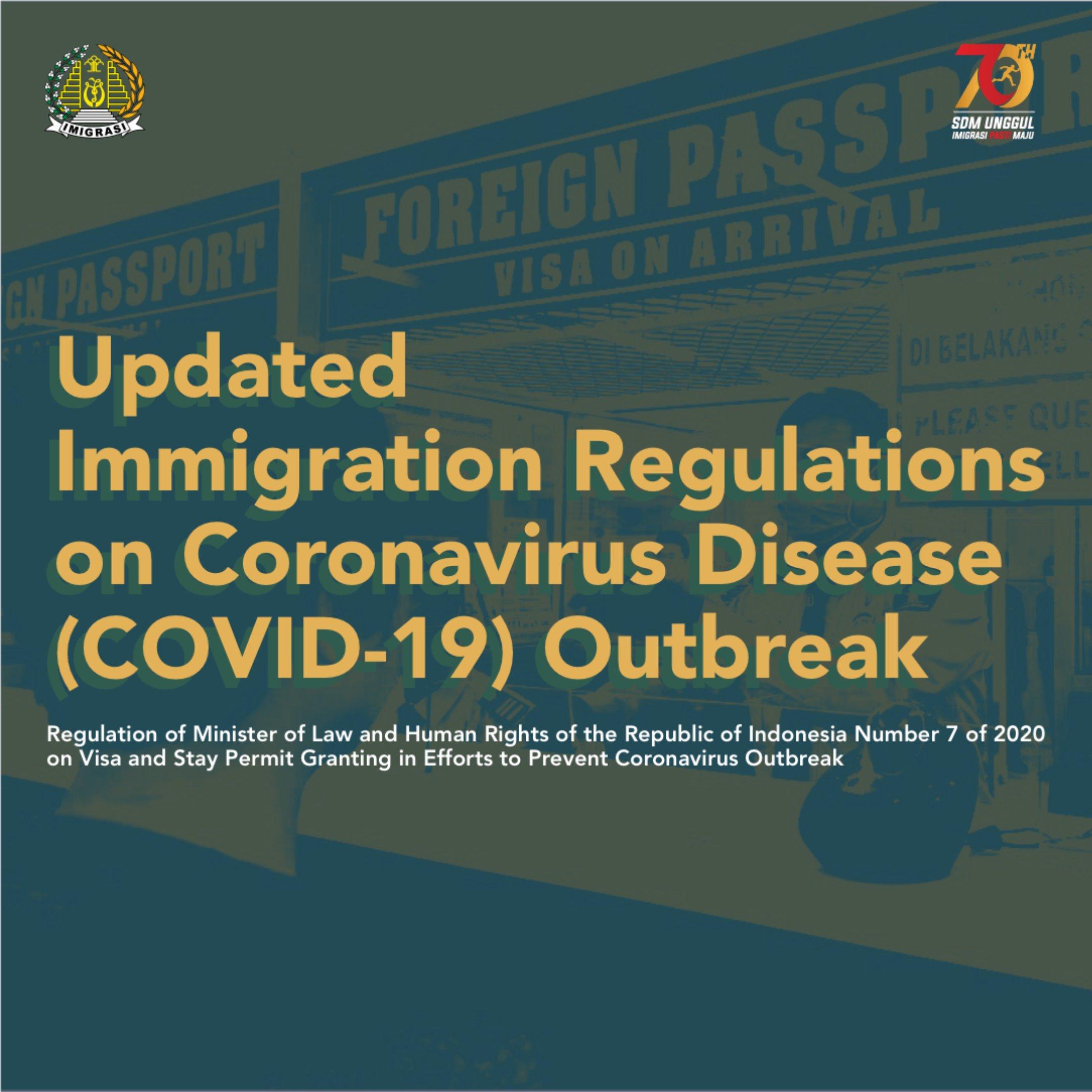 Extended Temporary Travel Regulation Of Novel Corona Virus Prevention