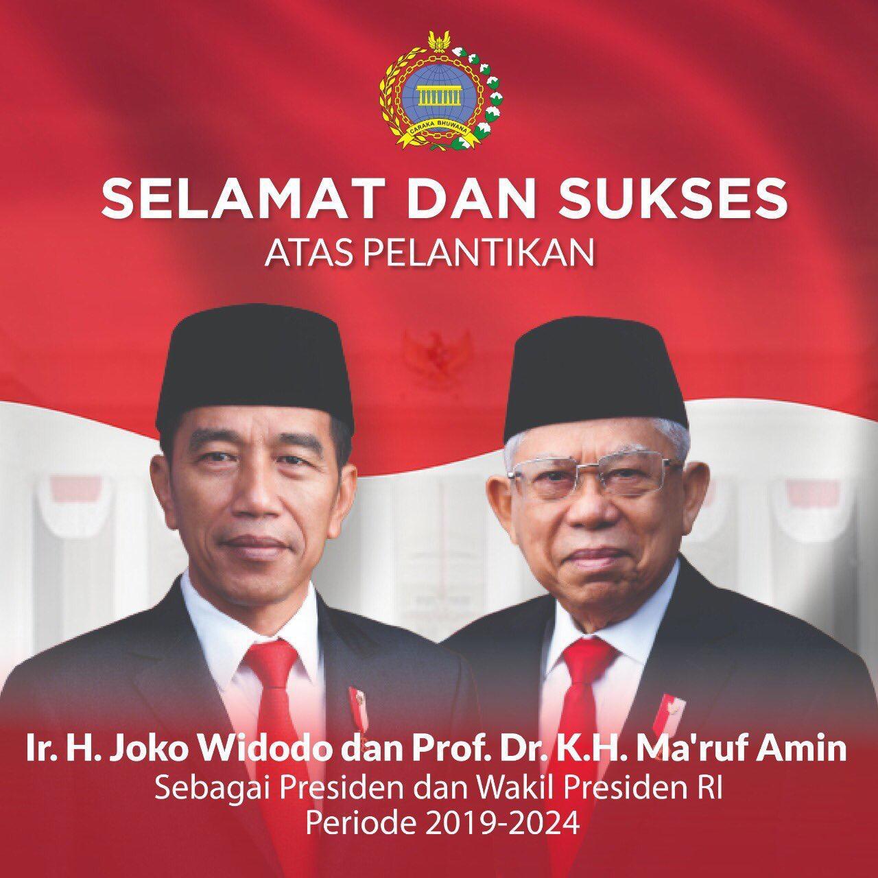 Perdana Menteri Singapura Hadiri Pelantikan Presiden Joko Widodo Dan Wakil Presiden Kh Ma Ruf Amin Bersamaindonesiamaju