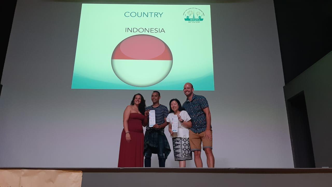 Indonesian delegation attended international deaf conference